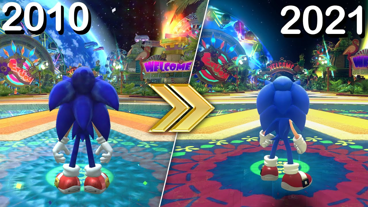 Sonic Colors in Sonic Forces!