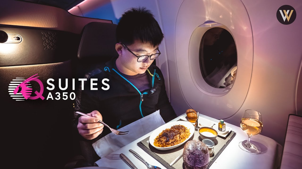 Download Qatar A350 Qsuites - Montreal to Doha