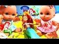 Куклы Пупсики найдена Русалка Играют Кинетический песок Пупсы нашли Русалку мультик барби на русском