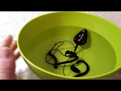 auna Hydro Schwimm fähiger Mini MP3-Player