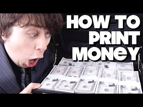 How To Print Money!!