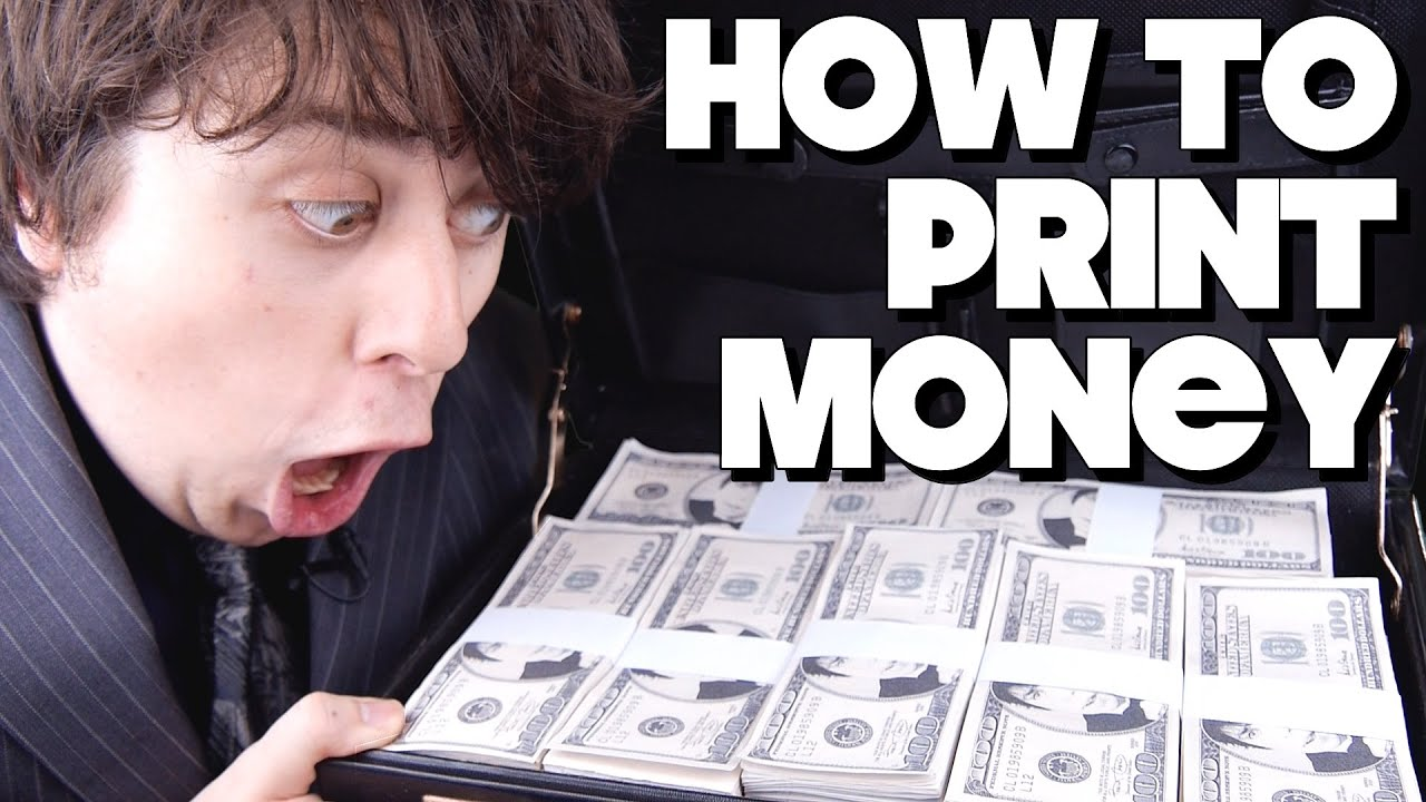 how to print money youtube - Pictures To Print