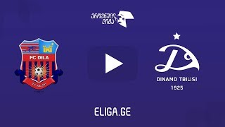 Dila Gori vs Dinamo Tbilisi full match