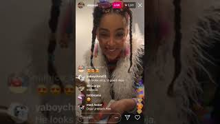 Doja Cat Talks about London-April 26, 2019 (Instagram Live)