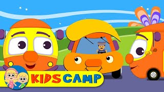 Wheels On The Bus   Nursery Rhymes   100 Minutes Compilation from Kidscamp