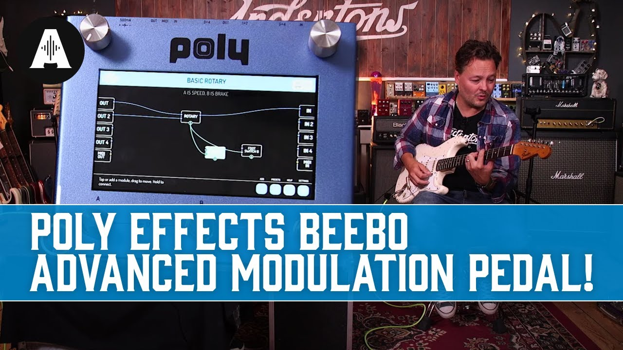 Advanced REAL Space Reverbs In a Pedal!   Poly Effects Beebo & Digit