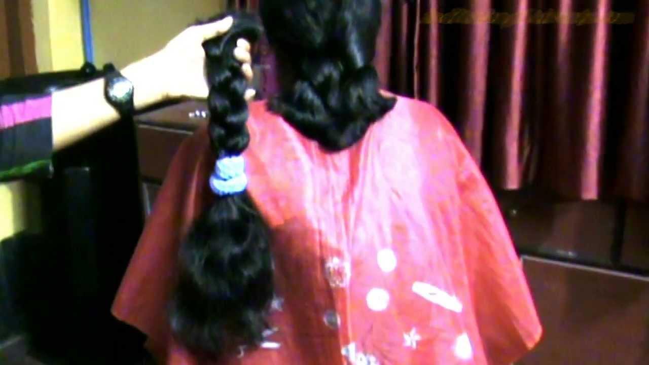 Arati Thick Braid Cut Youtube