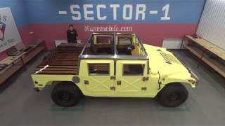 "Production Hummer H1 ! Review Hummer H1! Ramsmobile Art-series ""Komanche"" edition."