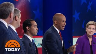 See Highlights From The 1st Democratic Primary Debate | TODAY