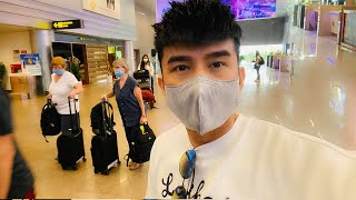 Quá cảnh ở Đài Bắc, Đan Trường lo sợ bị cách ly 14 ngày vì dịch virus Corona
