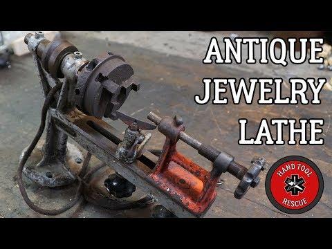 Antique Jewelry Lathe [Restoration]