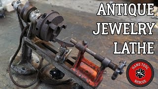 Antique Jewelry Lathe [Restoration]