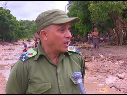 Afectaciones en el municipio de Manuel Tames