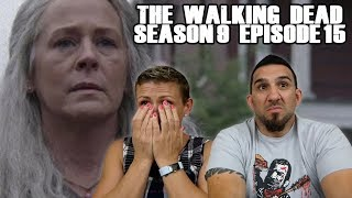The Walking Dead Season 9 Episode 15 'The Calm Before' REACTION!!