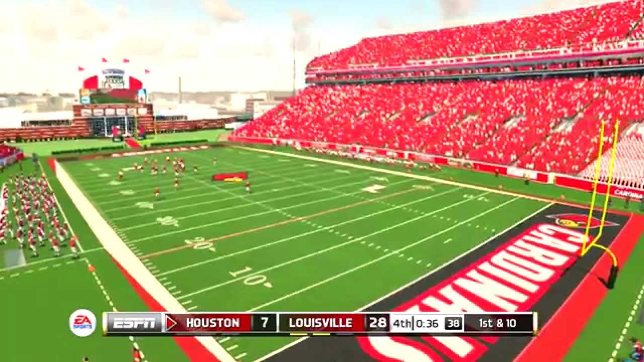 NCAA Football 14 PS3 converted to 15 Houston Cougars vs ...