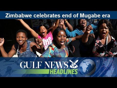 Zimbabwe celebrates end of Mugabe era - GN Headlines