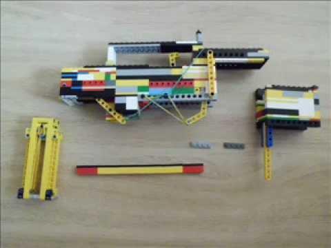 Lego автомат.