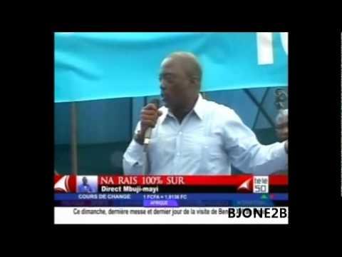 Joseph Kabila Kabange election 2011 Meeting à Mbuji Mayi