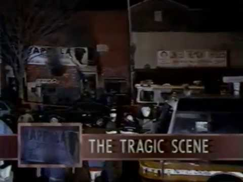 Happy Land Social Club fire in Bronx WNBC 3/25/90