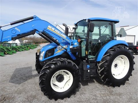 2017-new-holland-t4.100,-4x4,-cab,-loader,-like-new!-low-hours!