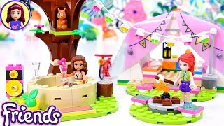 Lego Friends Nature Glamping Set Build