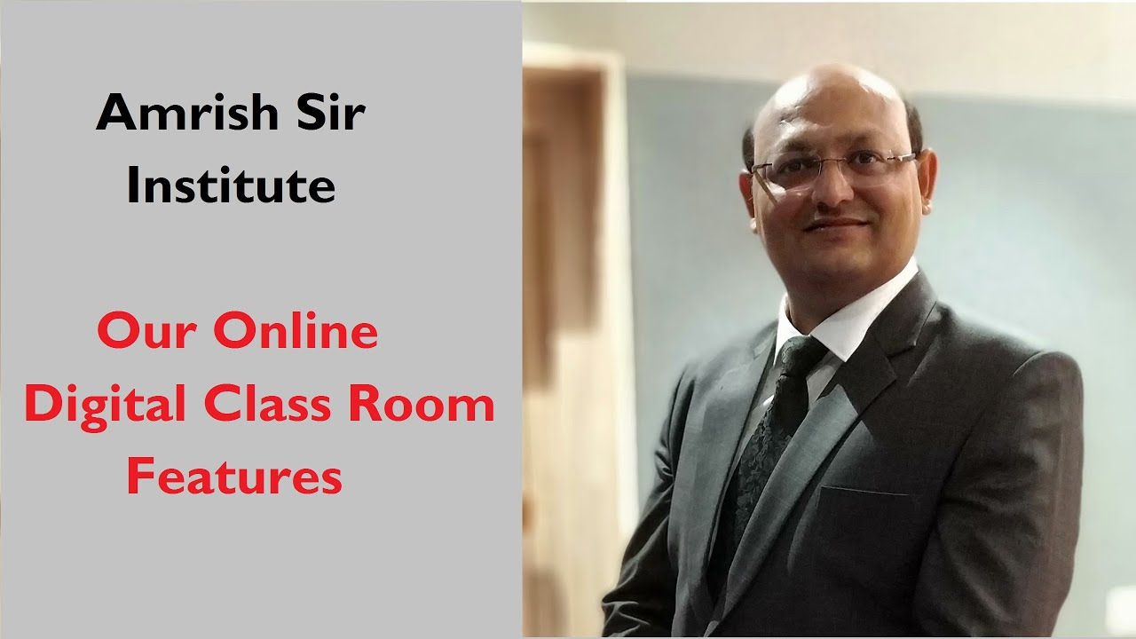 Our Online Digital class - Latest Technology - Amrish Sir Institute