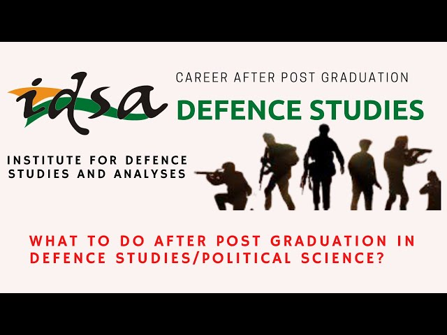 What to Do After Post Graduation | IDSA |Defence Taiyari
