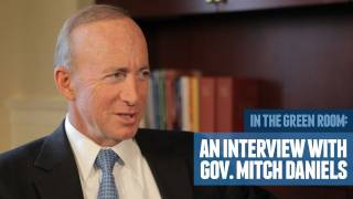 Indiana Governor Mitch Daniels on Good Government, Reforming Education, & Collective Bargaining