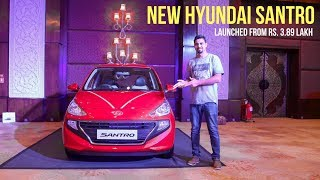 2018 Hyundai Santro Launched, Most Detailed Overview
