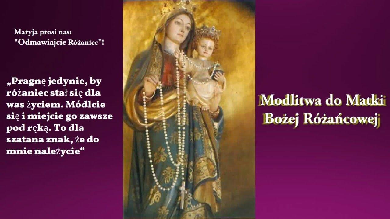 Modlitwa Do Matki Bożej Plus Cytaty św Jana Pawła Ii O Różańcu