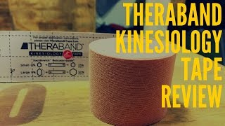 TheraBand Kinesiology Tape Review