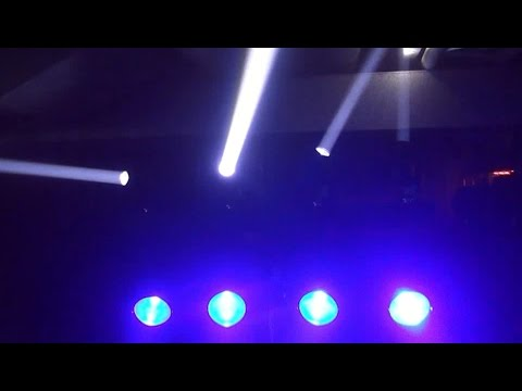 Light Show - ADJ Dotz Tpar System with Event Bar Pro Mount