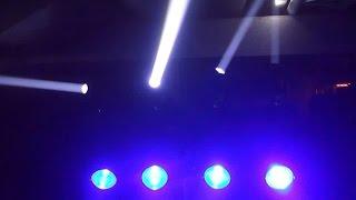 light show adj dotz tpar system with event bar pro mount