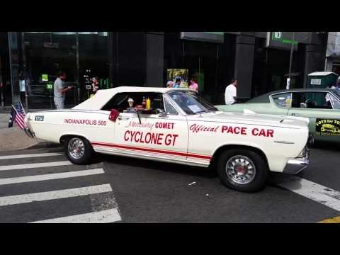 Classic Cars at Myrtle Avenue Street Festival, Ridgewood, New York