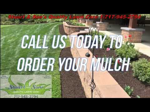 Call Stuart U0026 Sonu0027s Quality Lawn Care For All Your Mulching Jobs!