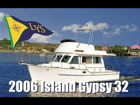 SOLD!!! 2006 Island Gypsy 32 Eurosedan Trawler Yacht for sale at Little Yacht Sales