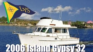 2006 Island Gypsy 32 Eurosedan Trawler Yacht for sale at Little Yacht Sales