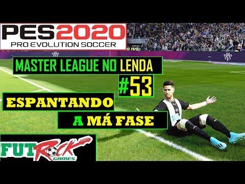 PES 2020 - MASTER LEAGUE NO LENDA #53 - ESPANTANDO A CRISE - 동영상