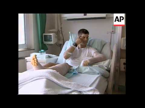 Interview with wounded US soldier evacuated from Afghanistan