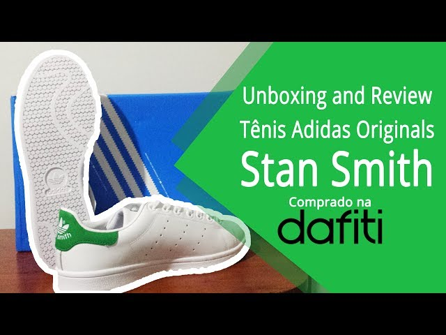 9430be923 2077c7124ea Unboxing and Review do Tênis Adidas Originals Stan Smith - PTBR  - YouTube ...