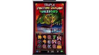 Triple Fortune Dragon Unleashed by IGT - Game Play Video - Short