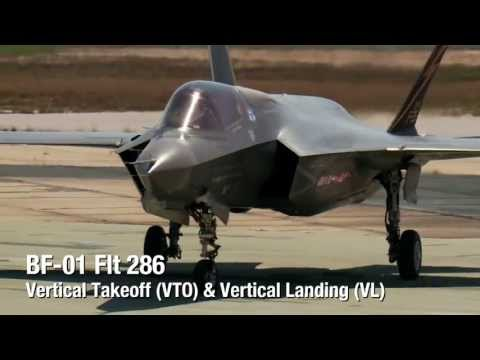 WATCH: Marine F-35B Executes First Vertical Takeoff & Vertical Landing