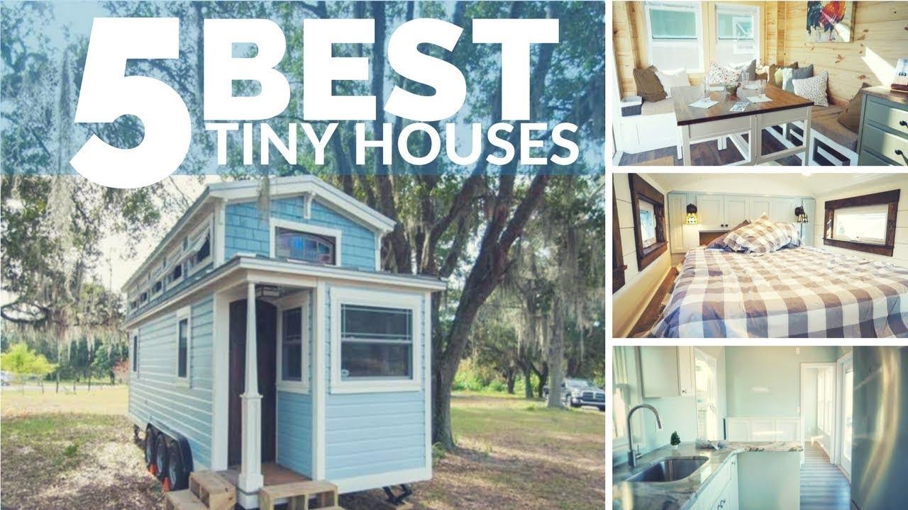 Top 5 Best Tiny Houses | AMAZING Tiny Houses on Wheels - with great layouts & Top 5 Best Tiny Houses | AMAZING Tiny Houses on Wheels - with great ...