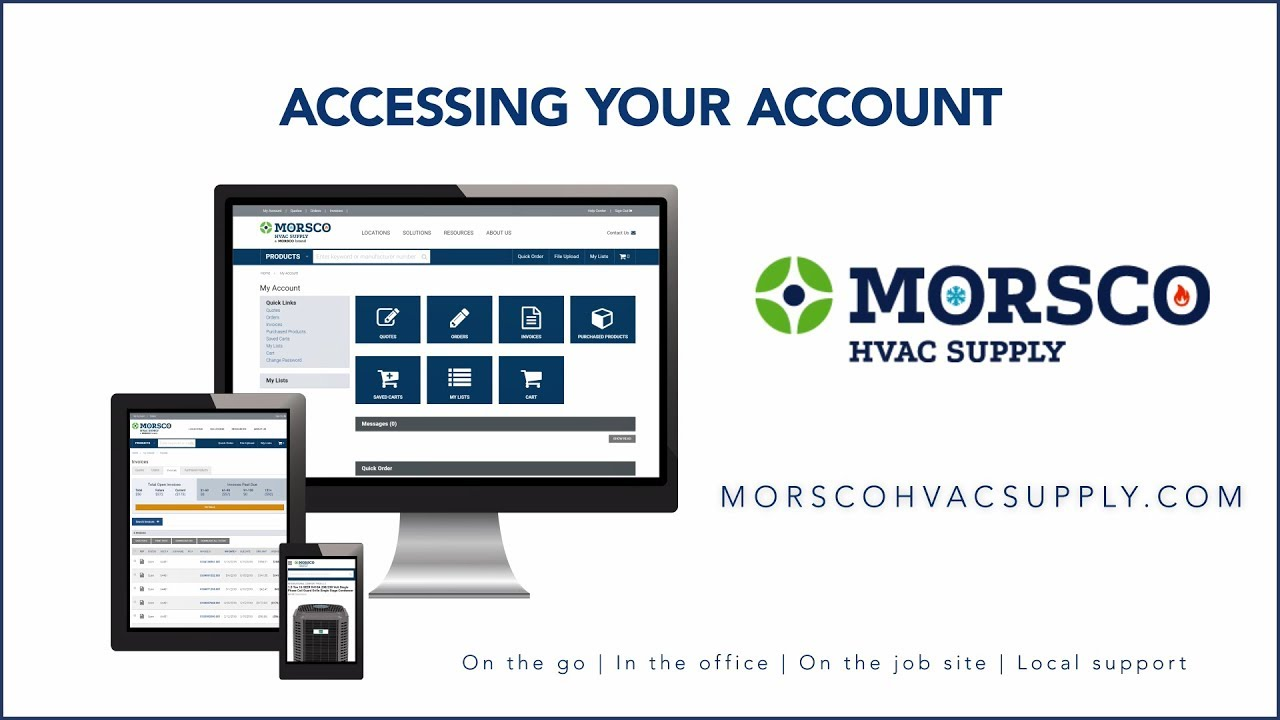 Morsco HVAC Supply | Plumbing and HVAC Product Solutions