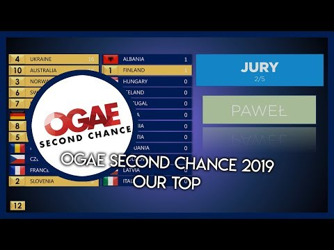 OGAE SECOND CHANCE 2019 | OUR TOP 24 | VOTING
