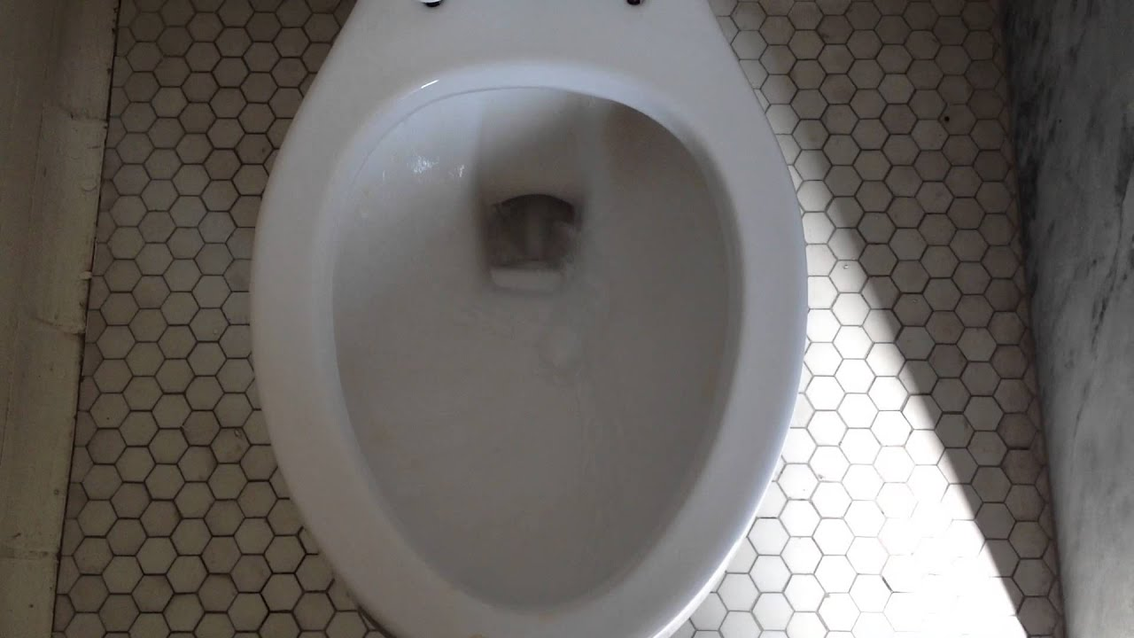 A vintage bathroom in the gym with briggs toilet