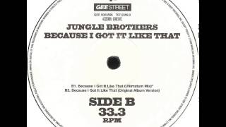 Jungle Brothers - Because I Got It Like That (Original Album Version)