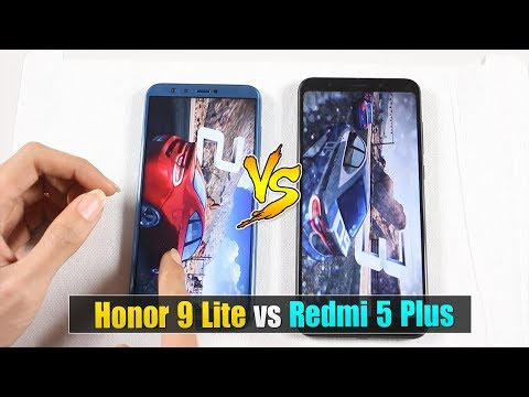 Speedtest Honor 9 Lite vs Redmi 5 Plus : Kirin 659 vs Snapdragon 625