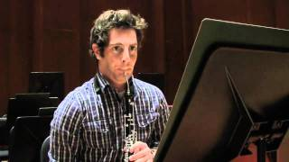 English horn Adam Dinitz on Ravel