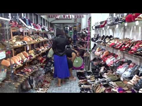 Thailand shoe shop.